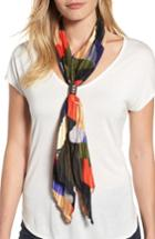 Women's Cara Pleated Skinny Scarf