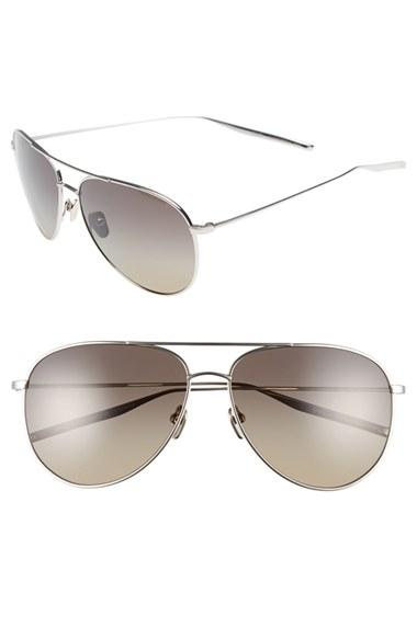 Men's Salt 'francisco' 59mm Gradient Sunglasses - Grey/ Grey