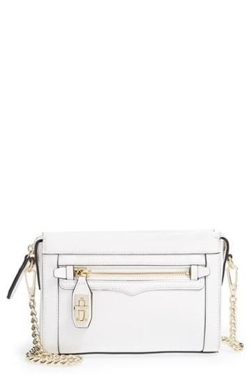Women's Rebecca Minkoff 'mini Crosby' Crossbody Bag White