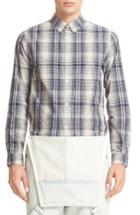 Men's A.p.c. Plaid Cotton Shirt