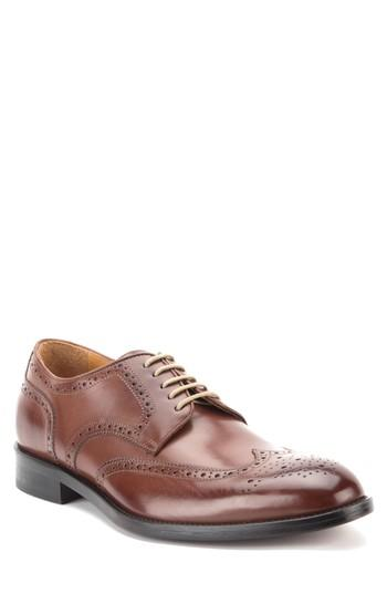 Men's Gordon Rush Keegan Wingtip .5 M - Brown