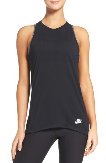 Women's Nike Essential Tank - Black