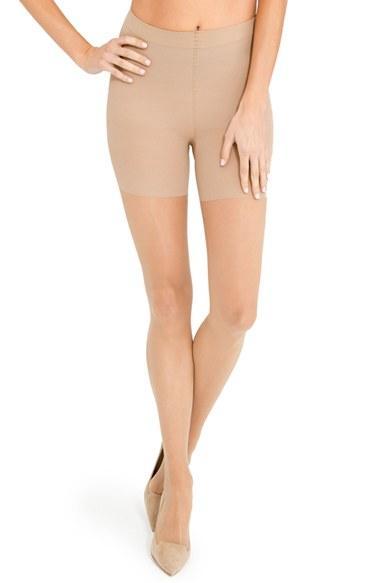 Women's Spanx Luxe Leg Pantyhose, Size A - Beige