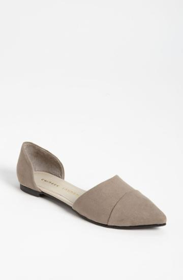 Women's Chinese Laundry 'easy Does It' Flat M - Beige