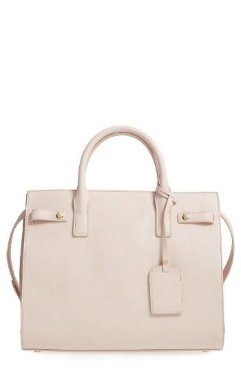 Sole Society Athenia Faux Leather Satchel -