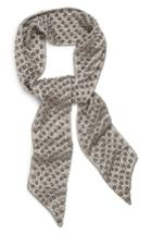 Women's New Friends Colony Hard Rock Studded Scarf, Size - Metallic