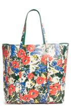 Balenciaga Medium Everyday Floral Leather Tote -