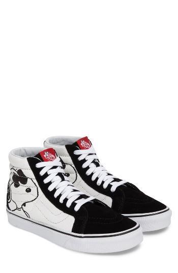 Men's Vans X Peanuts Sk8-hi Sneaker