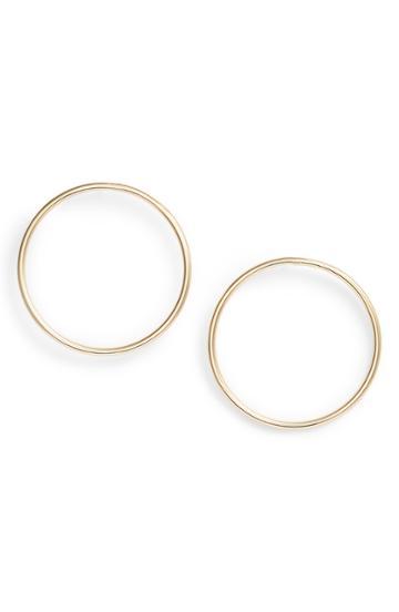 Women's Rebecca Minkoff Tubular Frontal Hoop Earrings
