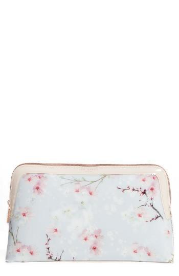 Ted Baker London Large Cherry Blossom Cosmetics Case