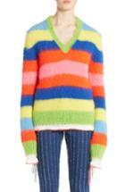 Women's Msgm Multi Stripe Sweater