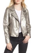 Women's Blanknyc Life Changer Moto Jacket - Metallic