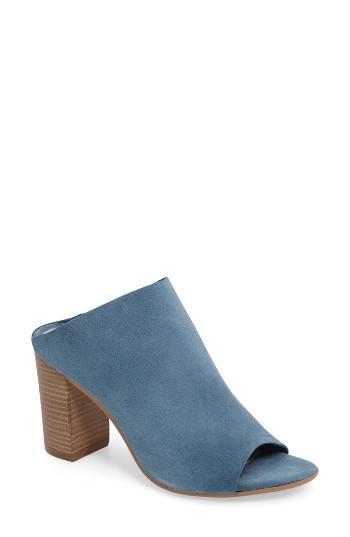 Women's Bos. & Co. Isabella Block Heel Mule .5-6us / 36eu - Blue