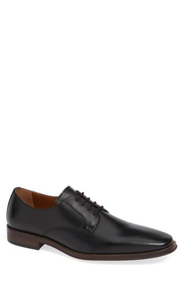 Men's Nordstrom Men's Shop Vincent Plain Toe Derby M - Black