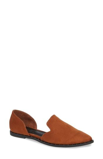 Women's Chinese Laundry Emy Loafer Flat M - Brown