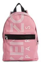 Kenzo Sport Logo Small Nylon Backpack - Pink