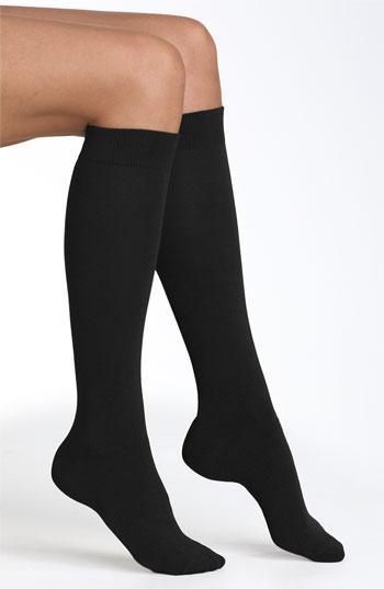 Nordstrom Knee High Socks (3 For $18) Black 10/12