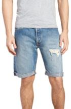 Men's Levi's 501 Cutoff Denim Shorts - Blue