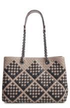 Bottega Veneta Intrecciato Leather Tote Bag -