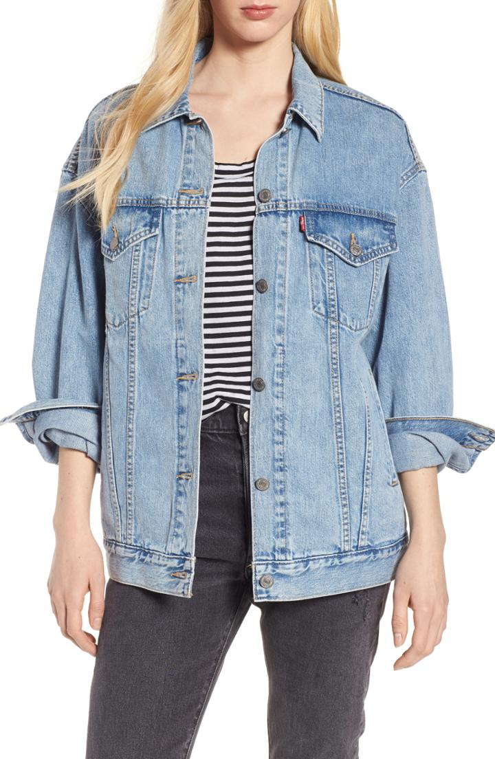 Women's Levi's Baggy Trucker Denim Jacket