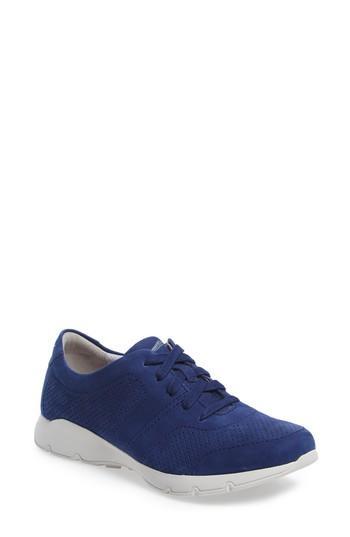 Women's Dansko Alissa Sneaker .5-6us / 36eu M - Blue