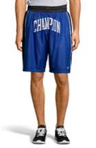 Men's Champion Satin Shorts, Size - Blue