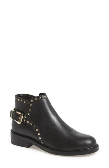 Women's Topshop 'actor' Studded Leather Ankle