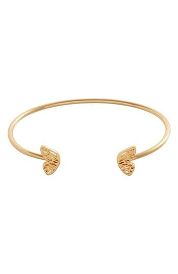Women's Olivia Burton Butterfly Wing Open Bangle Bracelet