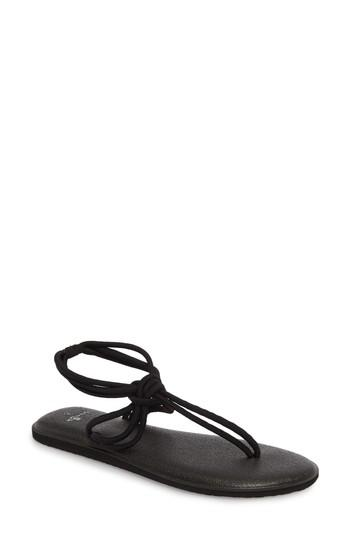 Women's Sanuk Yoga Sunshine Knotted Thong Sandal