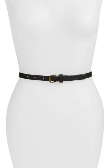 Women's Fantas Eyes 3-pack Belts, Size Small/medium - Multi White/ Black/ Brown