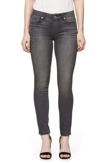 Women's Paige Transcend Verdugo Ankle Ultra Skinny Jeans - Grey