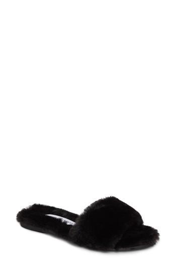 Women's Chinese Laundry Mulholland Faux Fur Slide Sandal