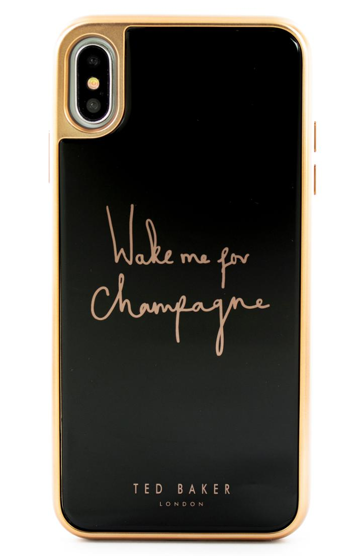 Ted Baker London Champagne Iphone X/xs/xs Max & Xr Case -