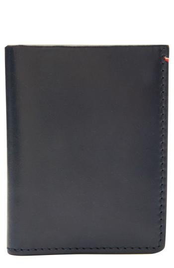 Men's Jack Mason Core Leather Wallet - Blue