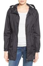Women's Calvin Klein Packable Rain Jacket - Black