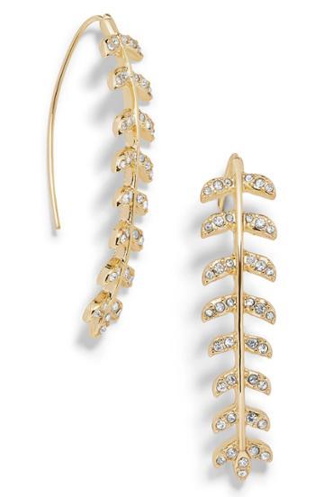 Women's Bauble Bar Cait Crystal Drop Earrings