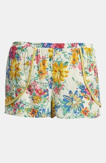 Lucca Couture Floral Shorts