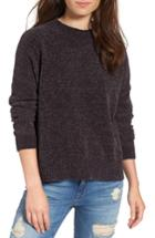 Women's Bp. Chenille Funnel Neck Sweater - Grey