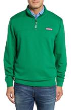 Men's Vineyard Vines Collegiate Shep Quarter Zip Pullover - Green