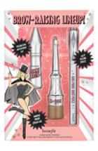 Benefit Brow Raising Lineup Set - 03 Medium/warm Brown