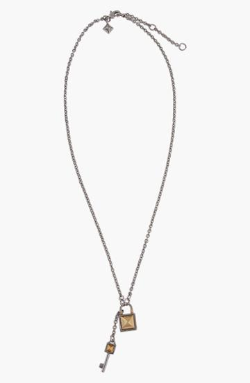 Women's Rebecca Minkoff Lock & Key Pendant Necklace