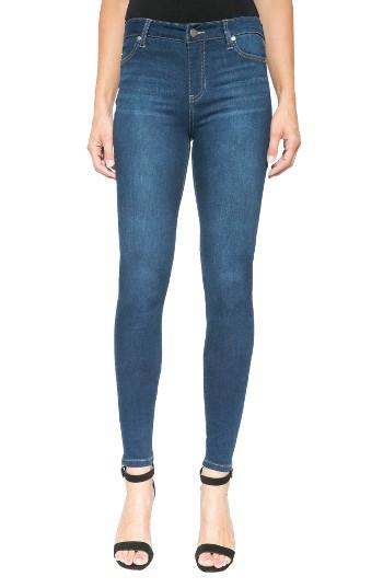 Petite Women's Liverpool Jeans Company Abby Stretch Curvy Fit Skinny Jeans