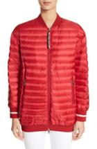 Women's Moncler Charoite Water Resistant Down Puffer Coat - Red