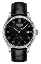 Women's Tissot Le Locle Powermatic Automatic Leather Strap Watch, 39mm