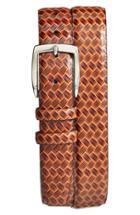 Men's Torino Belts Calfskin Belt - Cognac Brown