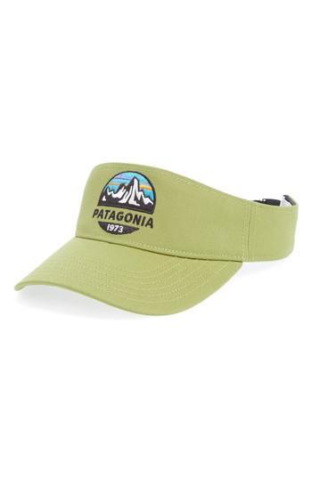 36da27eff7c3a Men s Patagonia Fitz Roy Scope Visor - Green
