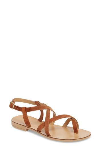 Women's Topshop Hotstuff Toe Ring Sandal .5us / 36eu - Brown