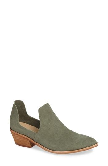 Women's Chinese Laundry Focus Open Sided Bootie .5 M - Green