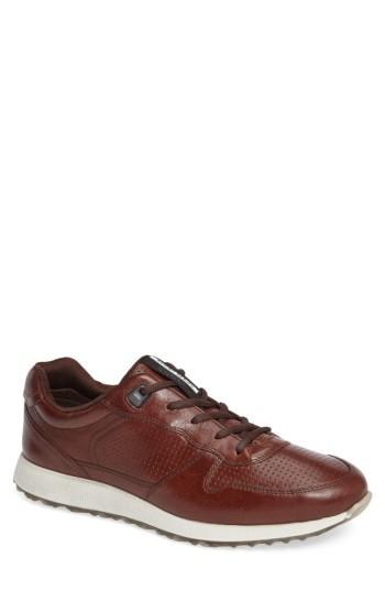 Men's Ecco Sneak Sneaker -8.5us / 42eu - Brown