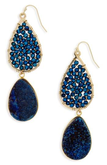Women's Panacea Crystal Drop Earrings